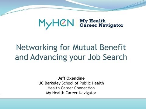 MyHCN Webinar: Tips for Networking & Overcoming Your Fears