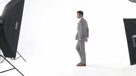 Tailor made Mens Suit in Birds-Eye Fabric