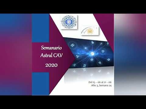 Semanario Astral CAV Junio 2020 semana 24