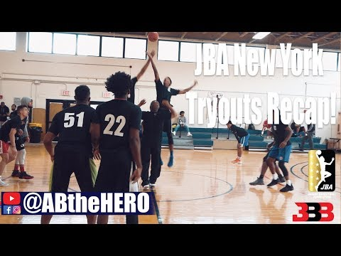 JBA Tryouts New York! Recap and Highlights Extended cut! Big Baller Brand #JBA #BBB