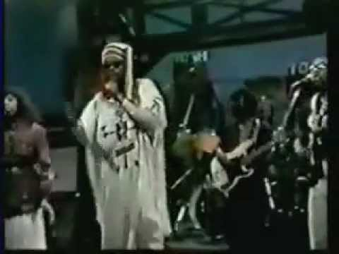 "Peter Tosh with Donald Kinsey - ""Where You Gonna Run"" - David Letterman Show 1983"