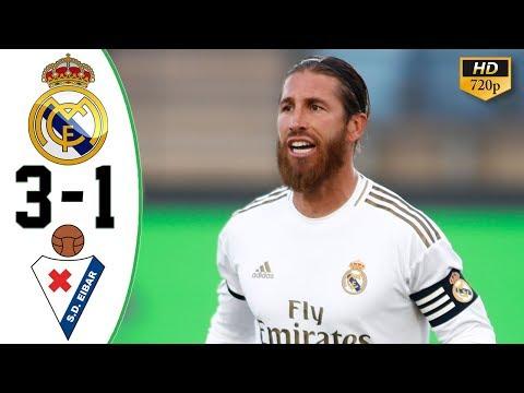 Real Madrid vs Eibar 3-1 All Goals & Highlights 2020 HD