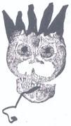 La Corona image amidst text