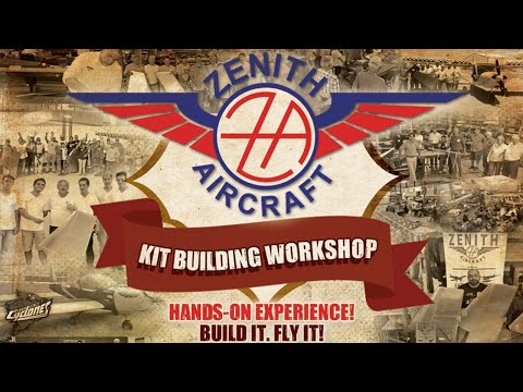 Zenith Aircraft Factory Workshop: June 18 - LIVE