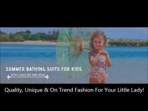 Summer Bathing Suits For Kids: Stay Cool By The Pool