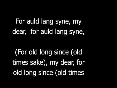 Auld Lang Syne Dougie MacLean version (With Lyrics and English Translation)