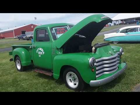 Car Shopping With Pam  1951 Chevy 1/2 Ton Hot Rod Truck At the 2020 Spring Carlisle