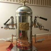 FOR SALE! Antique Victoria Arduino Vintage Espresso Coffee Machine Tipo Extra 1910 2 Group