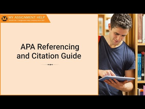 APA Referencing and Citation Guide | APA in text citation - How To Reference in APA Style