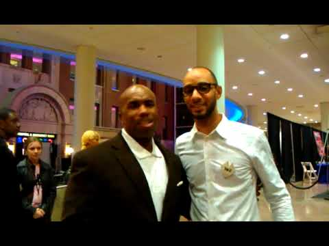 Paul Anthony  & Swizz Beatz  for the   Paul Anthony Live Life Give Life Foundation