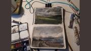 Sketchbook watercolours