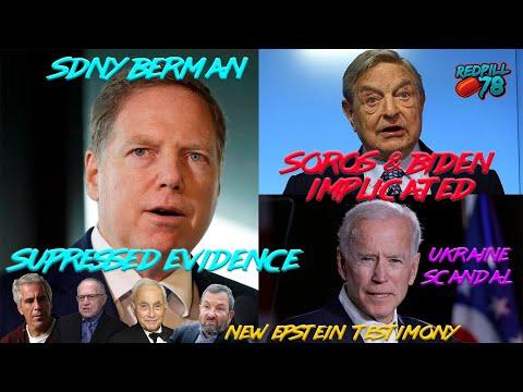 New Epstein Info, SDNY Ukraine Coverup, Biden & Soros Implicated
