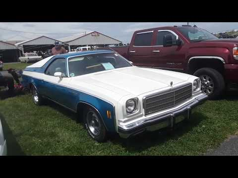 Classic Car Shopping With Pam 1974 Chevy El Camino At the 2020 Spring Carlisle Car Corral
