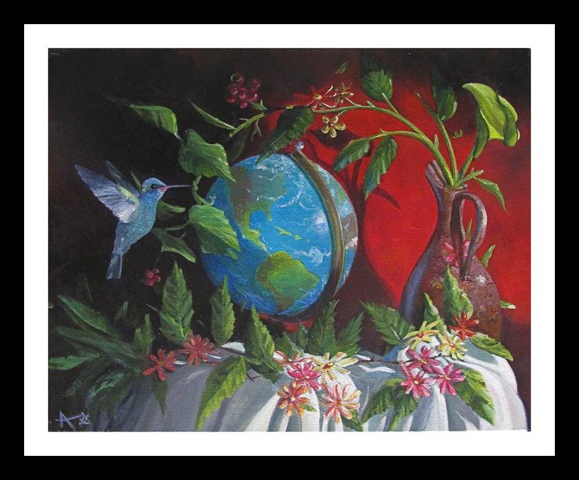 One world--Still life