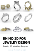Rhino 3D for Jewelry Design