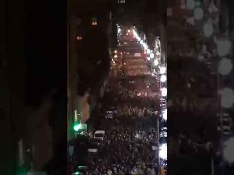 Hundreds of Thousands of Serbians Protest Against the Government
