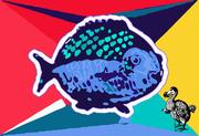 When the Fish Met the Dodo Bird in Wonderland