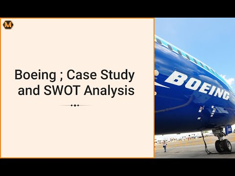 Boeing Marketing SWOT Analysis + Case Study Writing Solution