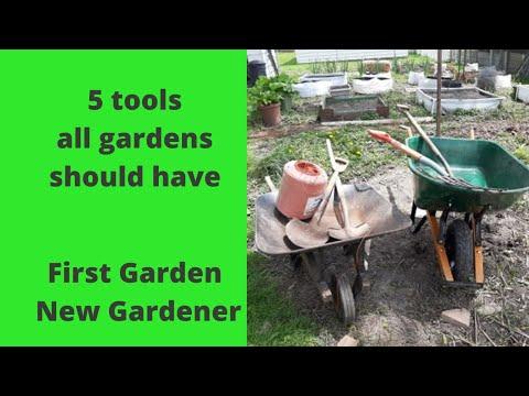 5 tools all gardeners should have    First garden New gardener