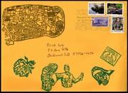 ARTISTAMP REVUE #3 - ENVELOPE front JPEG