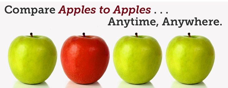 Compare Apples To Apples Anytime