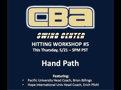 Swing Center Workshop #5 | Hand Path
