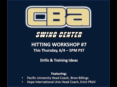 Swing Center Workshop #7   Drills & Training Ideas