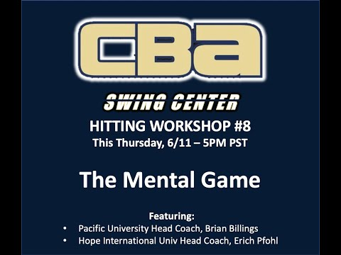 Swing Center Workshop #8   The Mental Game