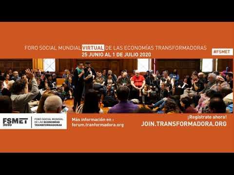25 junio Sesión de bienvenida y apertura FSMET_  Opening session for the week of the World Social F…