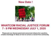 Whatcom Racial Justice Forum