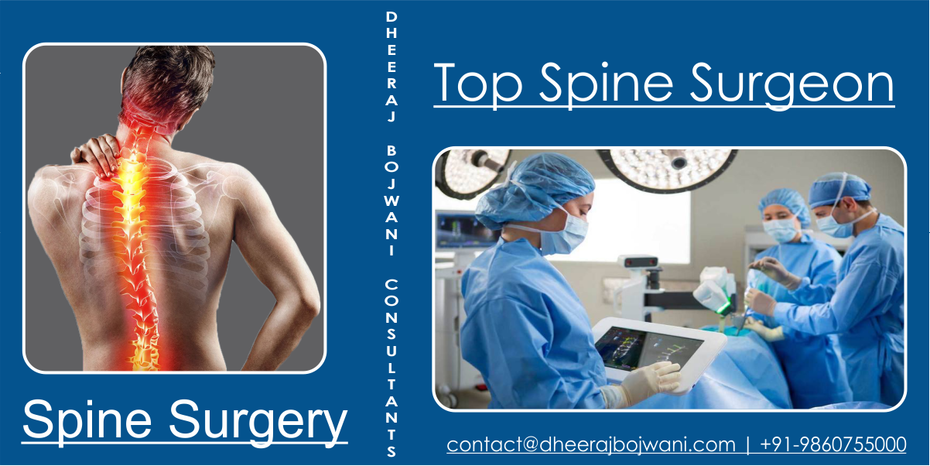 Get Relief from Painful Back with Spine Surgery India