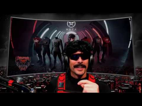 DrDisrespect's stream right before he got PERMANENTLY banned on Twitch