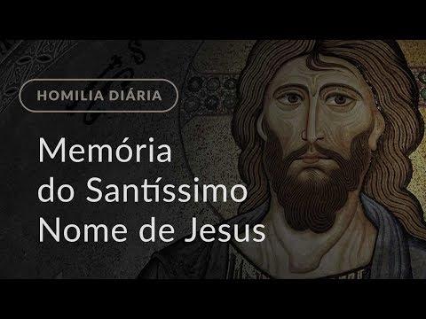 Memória do Santíssimo Nome de Jesus