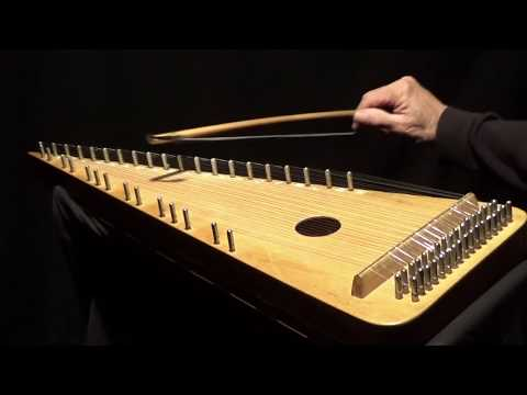"""""""OH HOLY NIGHT"""" on Bowed Psaltery"""