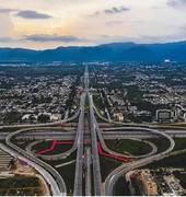 Islamabad Motorway Interchange