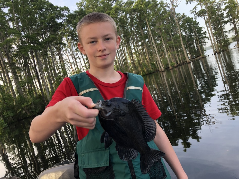 Grandson Dustin With a Nice Gill........6/28/2020