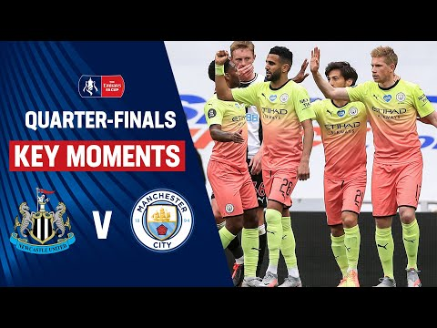 ไฮไลท์ Newcastle United 0-2 Manchester City | Key Moments | Quarter-Finals | Emirates FA Cup 19/20