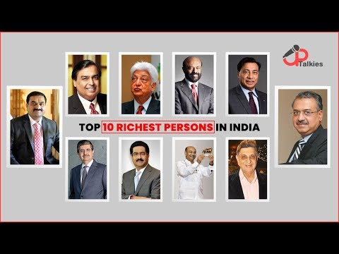 Top 10 Richest People In India | Richest Persons India 2019 | UpTalkies