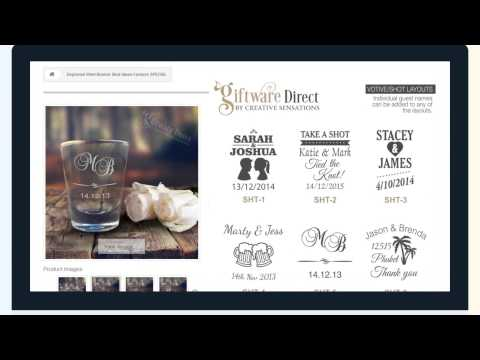 Giftware Direct Introduction video wedding gifts