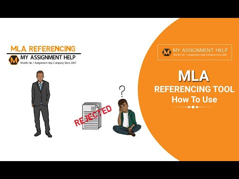 MLA Referencing Tool | How To Use - MyAssignmenthelp.ocm