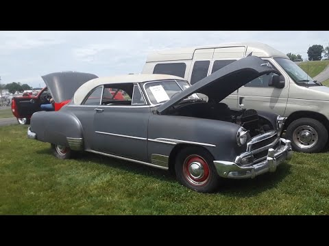 Classic Car Shopping With Pam 1951 Chevrolet Bel Air  At the 2020 Spring Carlisle Car Corral