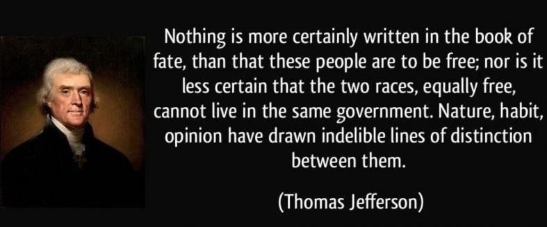 Jefferson on Racial Equality