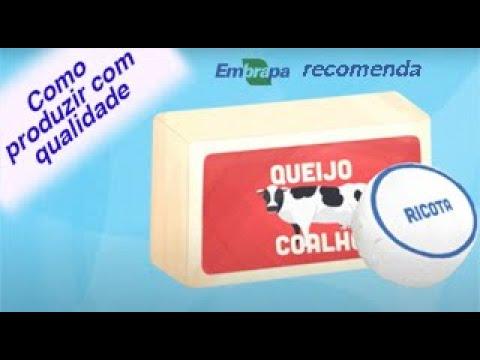 Produção de queijo coalho artesanal