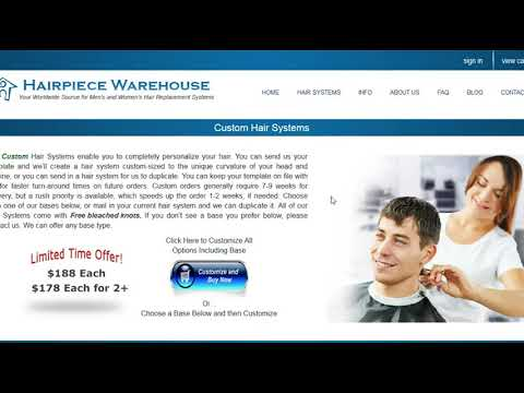 men's hair replacement | mens hair pieces | hair pieces for women | Toupees