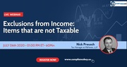 Exclusions from Income: Items that are not Taxable