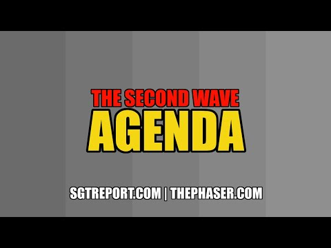 SGT REPORT: THE SECOND WAVE AGENDA