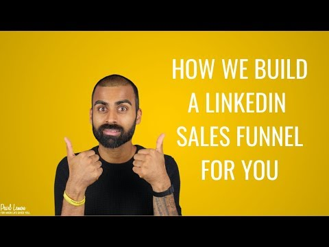 How We Build A LinkedIn Sales Funnel For You │ Pearl Lemon SEO & Lead Generation