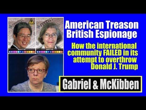 INTERNATIONAL ESPIONAGE AND Treason