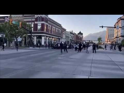 """Protester"" shoots SUV in Provo Utah"