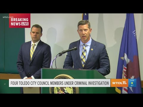 FBI news conference: 5 arrest warrants issued in Toledo City Council bribery scheme